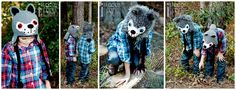 Handmade Crochet Wolf Animal  Hats for all ages ( Great Christmas gift ideas )  www.irarott.com