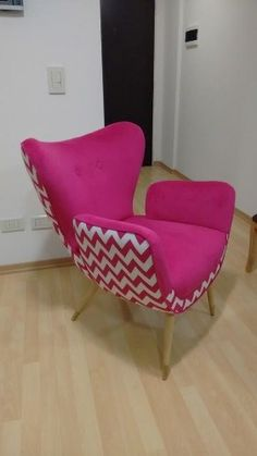Sillon Diseño Gondola Retro Vintage 1 Cuerpo Retro Furniture, Furniture Design, Retro Vintage, Corner Chair, Interior Decorating, Interior Design, Retro Ideas, Upholstered Chairs, Living Room Chairs