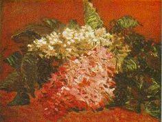 Vincent van Gogh: Lilacs. Oil on canvas. Paris: Summer, 1887. Los Angeles: Armand Hammer Museum.