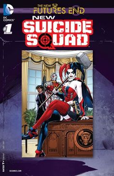 New Suicide Squad: Futures End (2014) #9 #DC #NewSuicideSquad #FuturesEnd (Cover Artist: Jeremy Roberts) Release Date: 9/10/2014