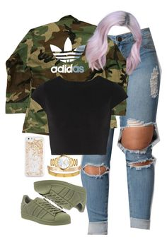 """10.4.16"" by mcmlxxi ❤ liked on Polyvore featuring adidas, Cartier, Alice + Olivia, Movado and ban.do"