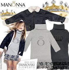 trendy children blog de moda infantil: MANONNA, PARA LAS NIÑAS MÁS FASHION