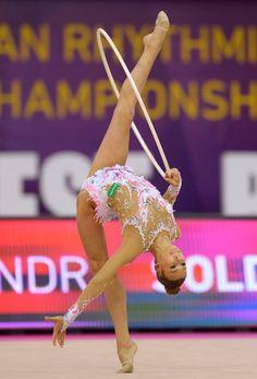 Alexandra SOLDATOVA (Russia) ~ Hoop @ EC Budapest-Hyngary      Tamas Robert Morvai.