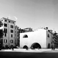 Barozzi Veiga. Bibliothèque et Centre de l'étudiant. Brescia (1)