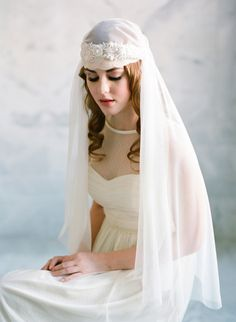 Danani Handmade Adornments #veil | Loblee Photography | see more on http://burnettsboards.com/2014/01/danani-handmade-adornments/