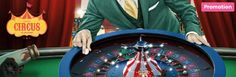 World famous ringmaster Mr Green proudly presents the BIGGEST sensation of the year – 'Live Casino Roulette.http://www.slot-machines-paradise.com/news/come-one-come-all  #mrgreen #slotmachinesparadise #comeonecomeall