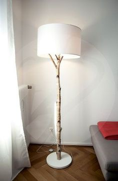 Floor Lamp »Light On A Stick« Gives Your Home A Natural »stalk