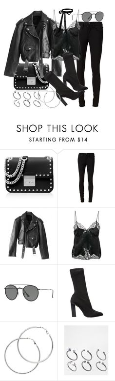 """""""Untitled #21156"""" by florencia95 ❤ liked on Polyvore featuring MICHAEL Michael Kors, rag & bone/JEAN, Jean-Paul Gaultier, Alexander Wang, Ray-Ban, Calvin Klein Collection, Melissa Odabash and ASOS"""