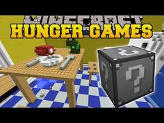 Minecraft: ALICE IN WONDERLAND HUNGER GAMES - Lucky Block Mod - Modded Mini-Game - YouTube