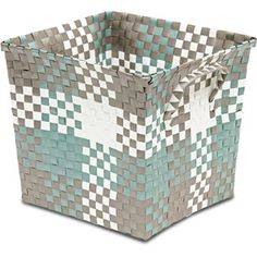 Cheap Storage Bins, Shop Storage, Storage Boxes, New Home Wishes, Green And  Grey, Weave, Basket Weaving, Woven Baskets, Taupe