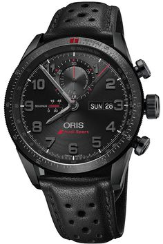 Introducing the Oris Audi Sport Limited Edition II Chronograph (specs & price) - Monochrome-Watches Fine Watches, Sport Watches, Cool Watches, Watches For Men, Oris Watches Men, Popular Watches, Audi Sport, Rolex, Stylish Watches