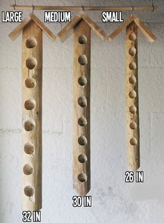 Hanging Suet Bird Feeders - Attract Woodpeckers And Songbirds - Handmade In The…