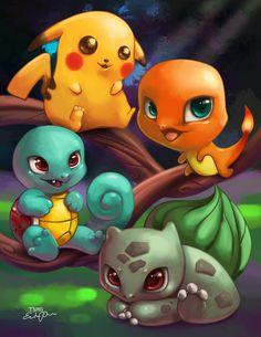 Pokemon Group By TsaoShin On DeviantArt