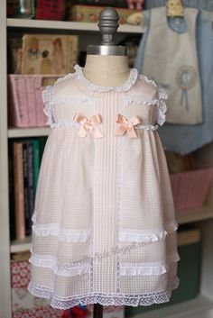 Squirrelly Made | Vintage Inspired Sewing | Vintage Style Dimity Dress