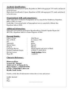 Sajid CV BE Civil 2007 Cv Resume Sample, Civilization, Curriculum, Resume, Teaching Plan