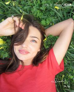 Miranda Kerr without makeup..flawless
