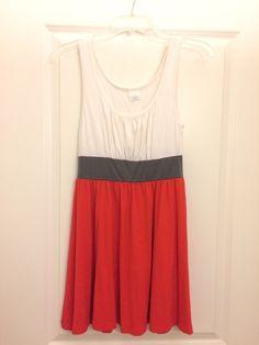 d1a680503a5 Color block babydoll dress