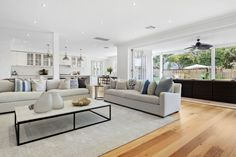 Sold 56 Peacock Street, Seaforth NSW 2092 on 21 Nov 2018 - 2014696283 | Domain Hamptons House, The Hamptons, Interior Architecture, Interior Design, House Plans, Couch, Bedroom, Street, Peacock