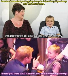 Prince Harry challenged