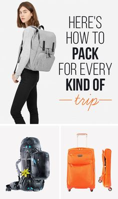 Here's How To Pack For Every Kind Of Trip