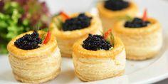 German Caviar Vol-Au-Vent