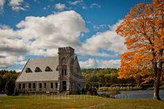 Wachusett Reservoir-Old Stone Church
