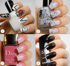 Awesome styled nails | We Heart It