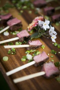 The Perfect Rustic menu - Venison lollypops | CHWV