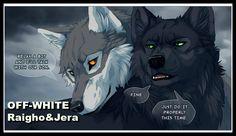RAIGHO&JERA OFF-WHITE COMIC