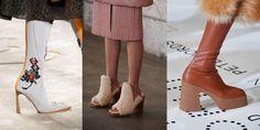 7 stijlvolle schoenentrends om tijdens de herfstwinter 2019