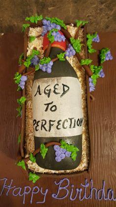 Aged To Perfection, Grapevine Wreath, Grape Vines, Yummy Treats, Planter Pots, Tasty, Wreaths, Home Decor, Homemade Home Decor