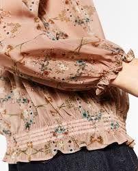 Bildresultat för zara floral print blouse 2016