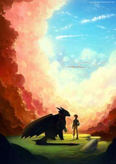 HTTYD2 - Beyond The Clouds by yakusokudayo.deviantart.com on @deviantART