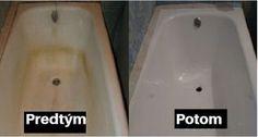 Jednoduchý návod, ako vyčistiť čierne škvrny a hrdzu vo vašej kúpeľni.   Chillin.sk