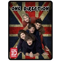 "Fleece Blanket ONE DIRECTION 1D Fleece Blanket Bed Throw Vintage Union Jack Flag Directioner Merchandise Gift Size 50"" x 60"". $30.99, via Etsy."