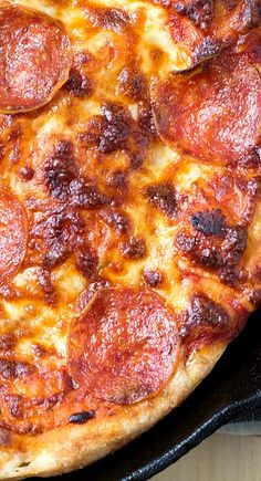 The Best Cast Iron Pizza