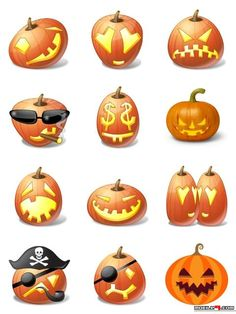 Halloween Emoticons - Halloween Chat Stickers for Whatsapp, LINE, Messenger, WeChat & more | For more chat stickers, download this app from Google Play: https://play.google.com/store/apps/details?id=com.mobile9.messaging