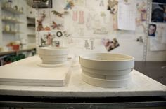 In the studio... - Pi Bjørg Ceramics
