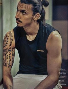 Zlatan Ibrahimovic He might be perfect...