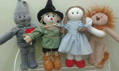 Bonecos Magico de Oz feitas especialmente para você. Mais de 88 Bonecos Magico de Oz: magico de oz, bonecos magico de oz em feltro, festa magico de oz, wicked, dorothy