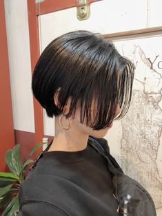 Icy Short Pixie Cut - 60 Cute Short Pixie Haircuts – Femininity and Practicality - The Trending Hairstyle Korean Short Hair, Short Straight Hair, Girl Short Hair, Short Hair Cuts, Shot Hair Styles, Curly Hair Styles, Pretty Hairstyles, Straight Hairstyles, Androgynous Haircut