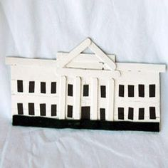 White house craft - perfect while studying American Government!