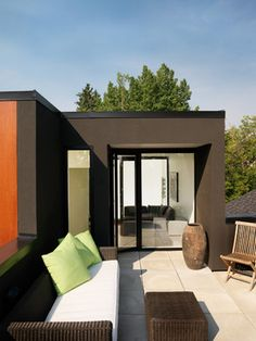 Hannon Richards Bankview House - modern - patio - calgary - Davignon Martin Architecture