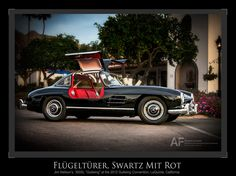 Jim Neilson's 300 SL at the 2012 Gull Wing Group convention in LaQuinta, California.