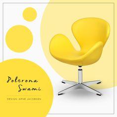 Poltrona Swani | Design: Arne Jacobsen