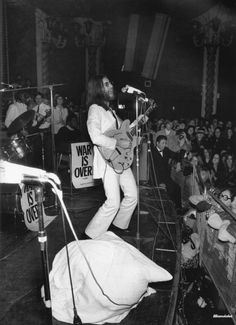 The Plastic Ono Band at the Lyceum Ballroom, London, 15 December, 1969
