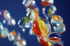 rainbow cat's eye marbles