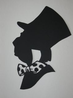 alice in wonderland silhouettes | Mad Hatter