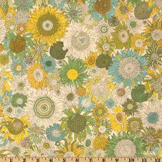 Liberty Of London Tana Lawn Small Susanna Yellow/Green