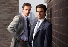 White Collar. Peter Burke and Neal Caffrey.